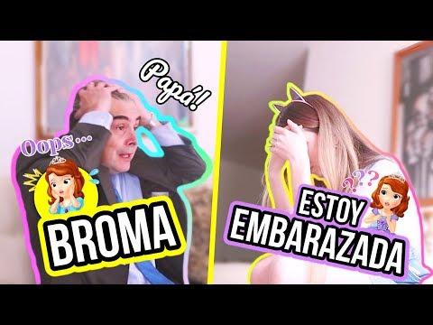 ESTOY EMBARAZADA! - BROMA CRUEL A MI PAPÁ || Bianki Place ♡