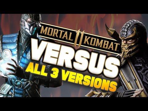 Mortal Kombat 11 Scorpion vs Sub Zero ft. ALL 3 VERSIONS! (MK 11 PS4 Gameplay)