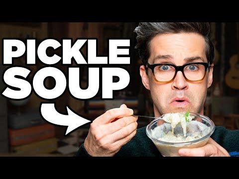 Pickle Soup Taste Test