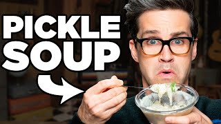 Pickle Soup Taste Test