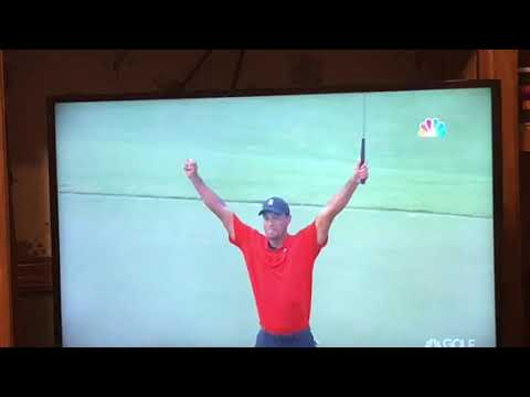 Tiger Woods Wins 2018 Tournament Championship In Amazing Comback