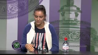 Laura Robson Pre-Wimbledon Press Conference
