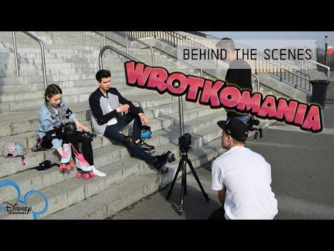 Behind The Scenes WROTKOMANIA z Jeremim | Disney Channel | Sylwia Lipka