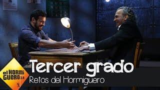 El interrogatorio más duro de Mario Casas y José Coronado - El hormiguero 3.0