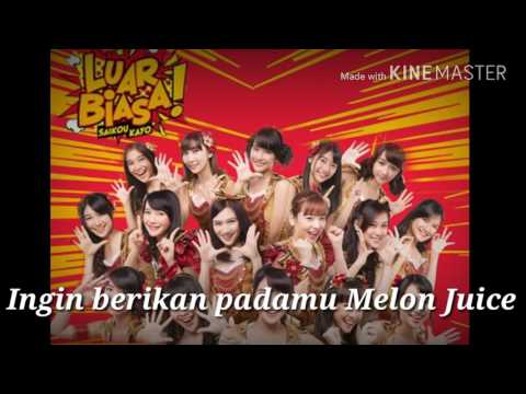 JKT48 - MELON JUICE (LYRICS)