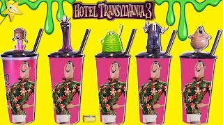 Hotel Transylvania 3 RARE MOVIE CUPS & TOYS w/ Slime Surprise Kids Game