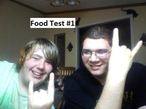 Food Test #1