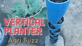 How to Make Vertical Planter Tower from PVC Pipe