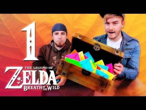 RUPEE CHALLENGES! - Zelda Breath of the Wild (THE FOLD Part 1)
