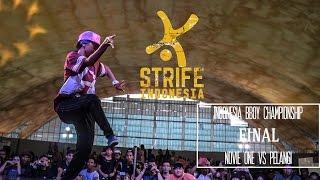 NOVIE ONE VS PELANGI | FINAL BGIRL BATTLE - IBC 2015 | STRIFE.TV INDONESIA