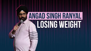 EIC Losing Weight l Stand-up Comedy l Angad Singh Ranyal