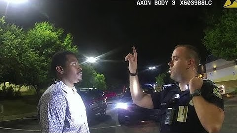 WARNING: GRAPHIC CONTENT - Dramatic body cam video shows Atlanta police shooting