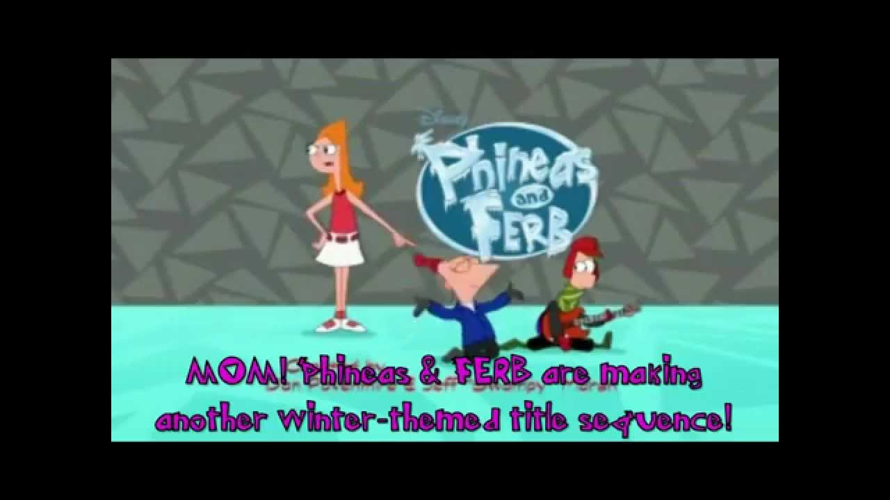 Phineas and Ferb Christmas Vacation - YouTube