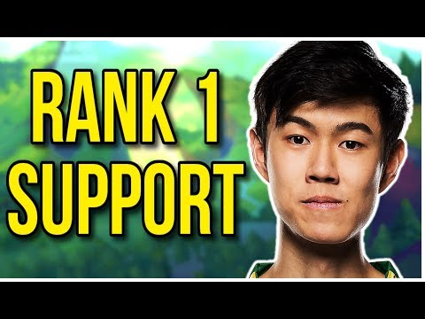 How Stunt got Rank 1 Playing Support - League of Legends
