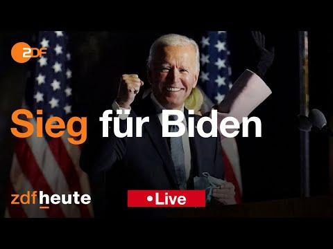 ZDF spezial: 'Sieg für Biden – Entscheidung in den USA'