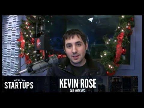 - Startups - Kevin Rose of Milk - TWiST #218