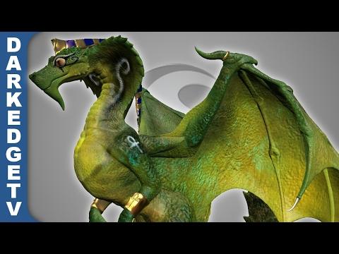 Sculptris - Egyptian Dragon (part 2)