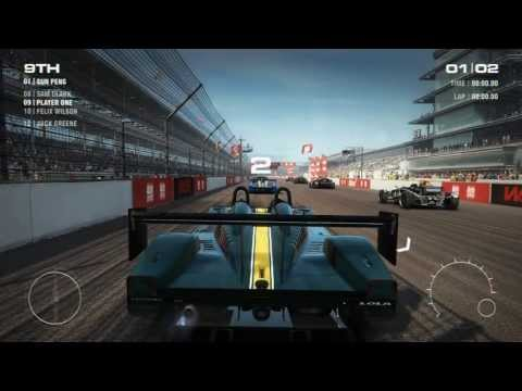 GRID 2 / Uncovered: Indianapolis Gameplay [HD]