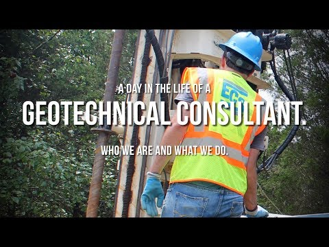 A day in the life of an ECS Geotechnical Consultant.