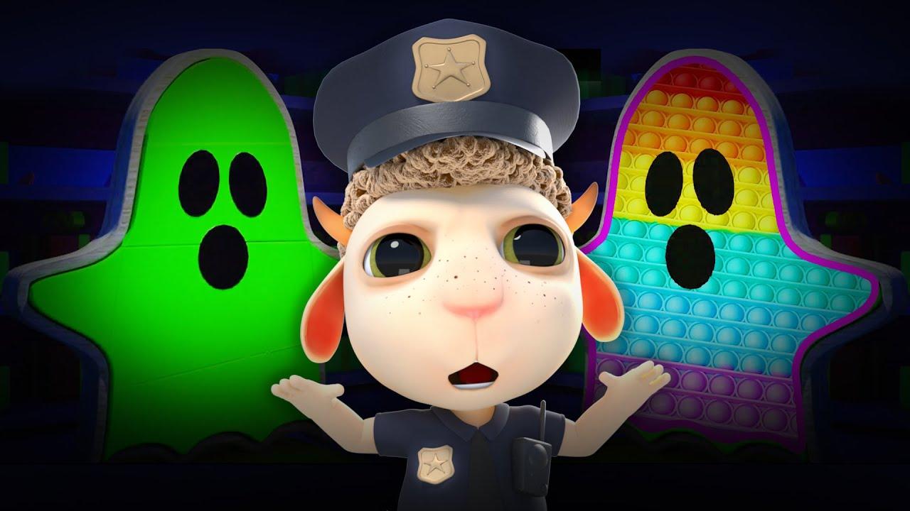 👻 Is That Halloween Zombie Ghost? Nursery Rhymes and Kids Songs   Monsters Under the Bed Cartoon