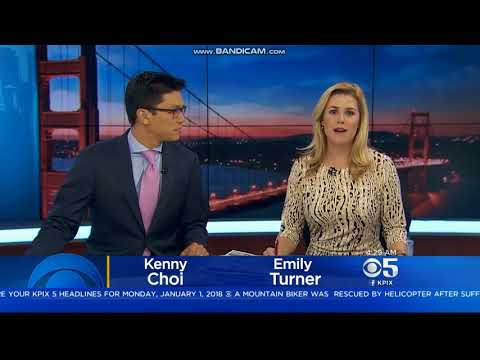 KPIX 5 News this Morning at 4:30am open January 1, 2018