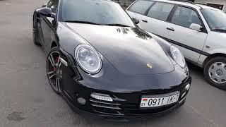 Красивый Porsche 911 turbo.