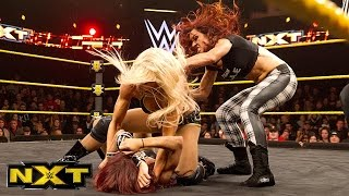 Charlotte vs. Sasha Banks - NXT Women's Championship Match: WWE NXT, January 21, 2015