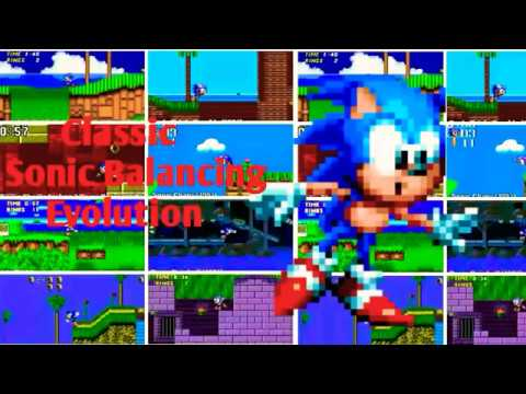 Download Evolution Of Classic Sonic Keeping Balance-(1991-2017)