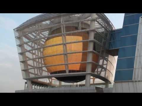 新竹世博台灣館天燈館(山水心燈)球形影片放映