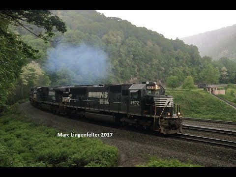 An Extremely loud NS 39Q at 225 and Horseshoe Curve