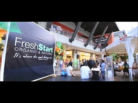 Fresh Start Organic & Natural Store Opening - The District Ayala