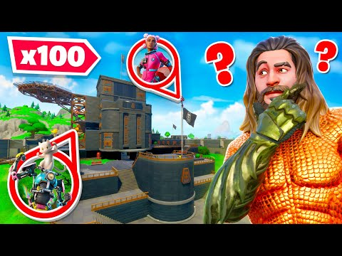 *NEW* 100 Player Hide & Seek in Fortnite! (Chapter 2 Season 3)