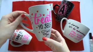 12 Days Of Christmas Presents ~ Day 11 ~ Diy Sharpie Mugs