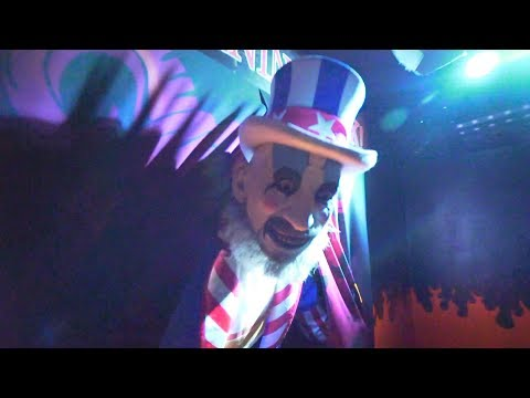 House Of 1000 Corpses Maze At Halloween Horror Nights Universal Studios Hollywood