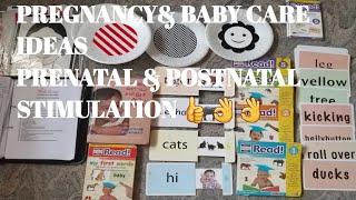 Pregnancy and baby care series in Tamil/Intro/Prenatal & Postnatal stimulation Techniques/flashcards