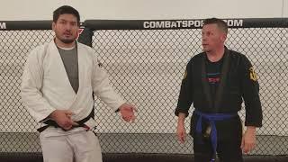 Brazilian Jiu Jitsu Takedown For Self Defense