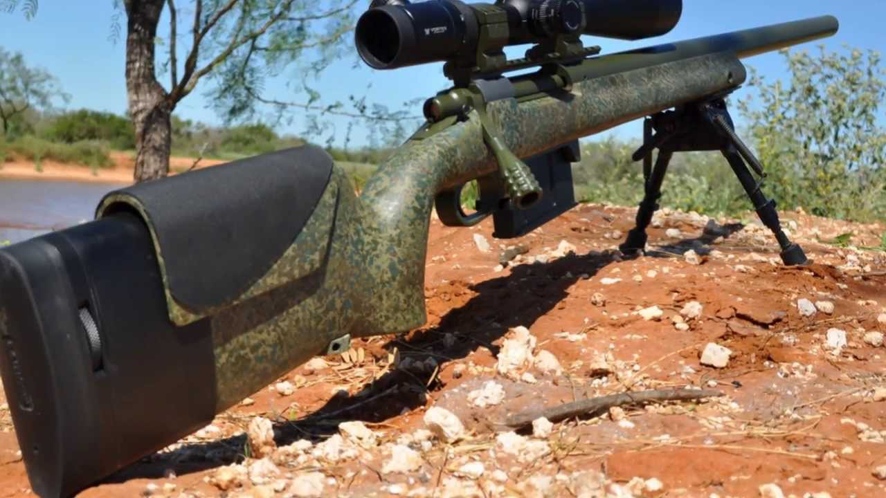 Custom 700 7mm Mag Precision Rifle