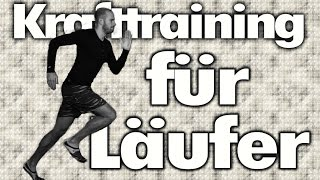 Krafttraining für Läufer / Jogger - Muskeln Stärken fürs Laufen - Verletzungen vorbeugen