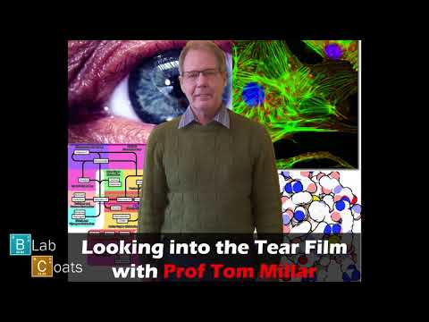 Looking into the Tear Film with Prof Tom Miller