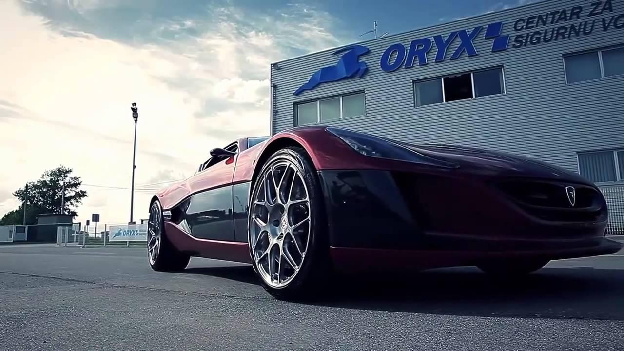 rimac concept one schnellste elektroauto der welt youtube
