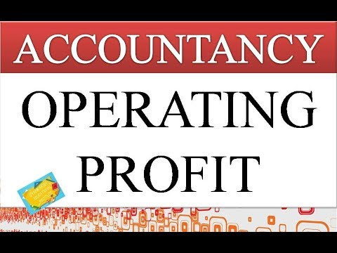 OPERATING PROFIT | FINANCIAL STATEMENTS | TRADING ACCOUNT | ACCOUNTANCY VIDEOS | GEI