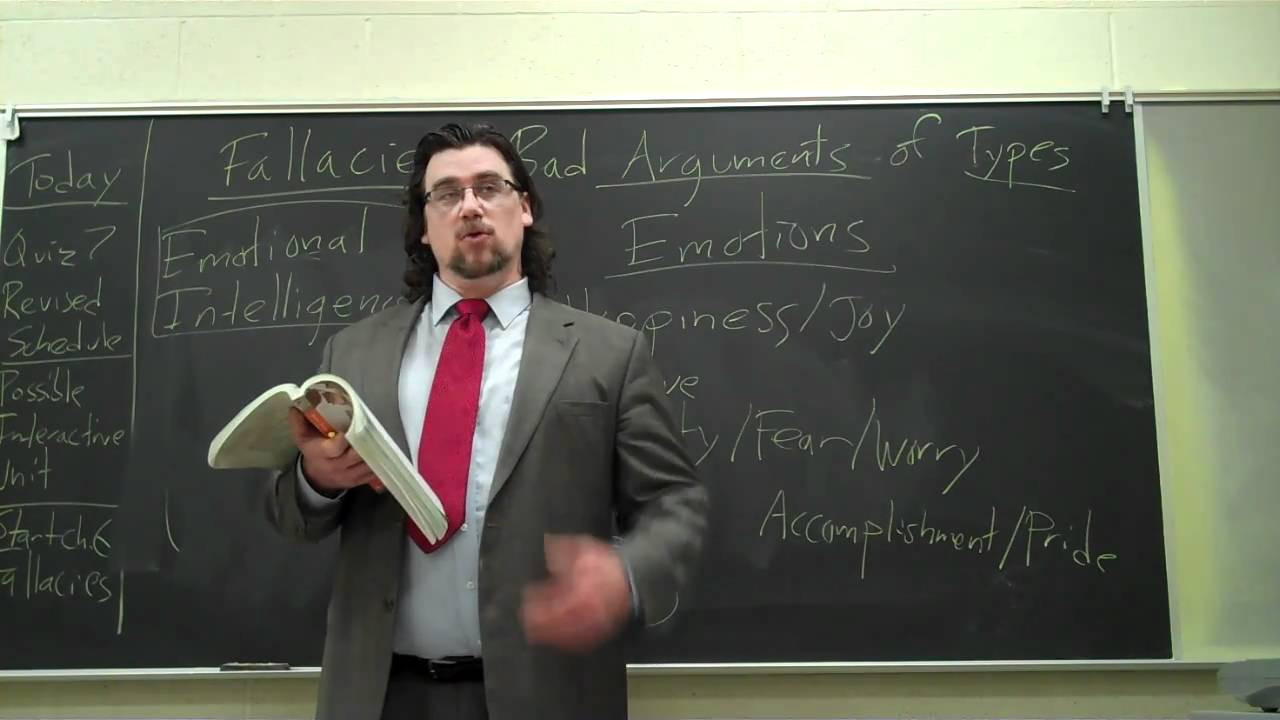 Critical Thinking: Fallacies 1 - YouTube