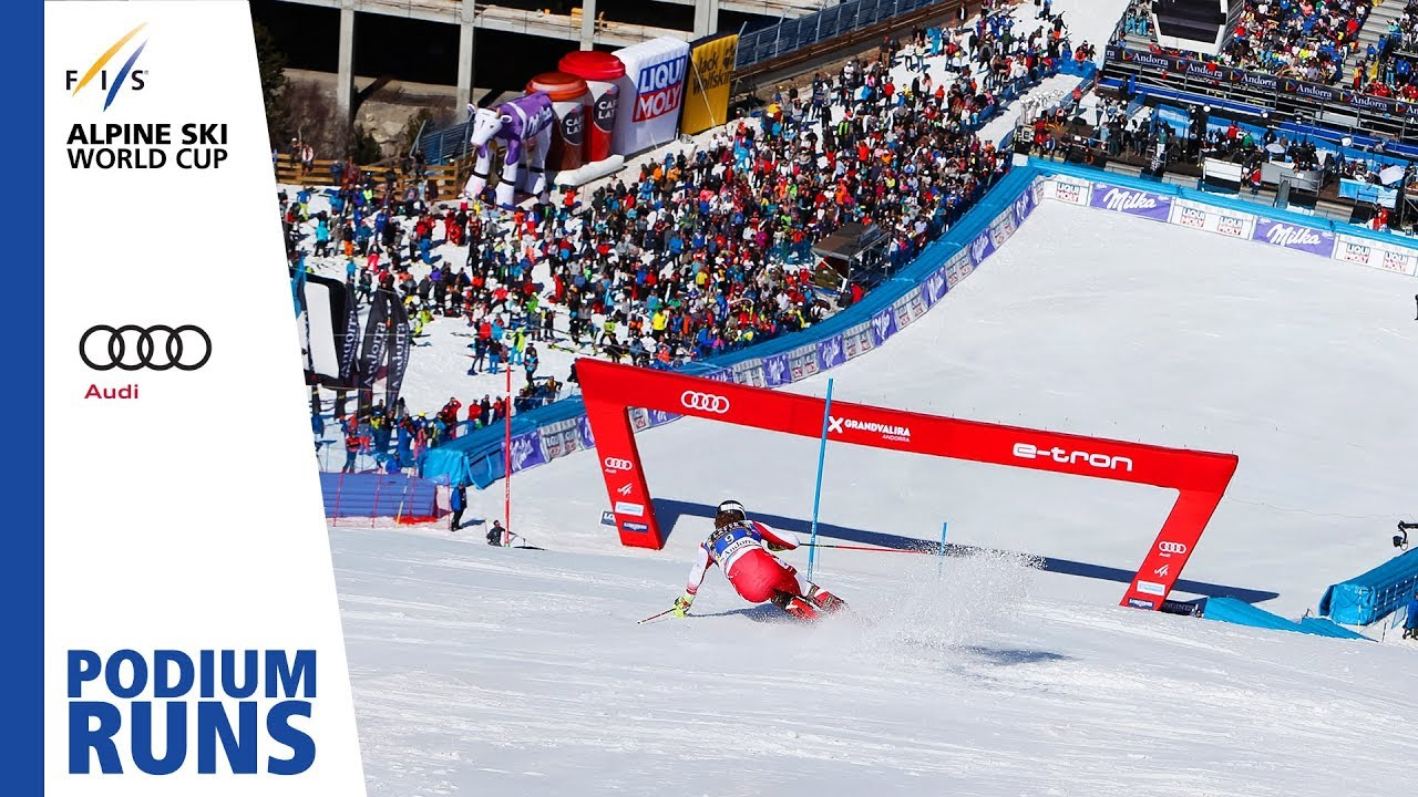 Manuel Feller 2nd Place Men S Slalom Soldeu Fis Alpine