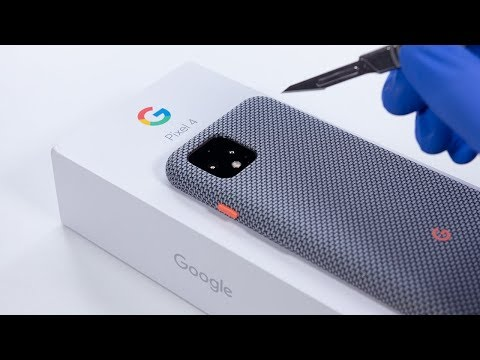 Google Pixel 4 Unboxing And Camera Test! - ASMR
