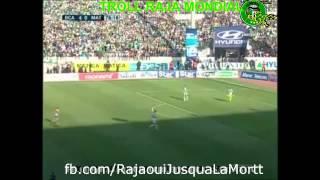 أحسن تيكي طاكا رجاوية دقة دقة | الرجاء 5 - 0 المغرب التطواني 2017 Video
