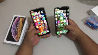 iPhone Xs Max réplica vs Original  - LARANJA IMPORTS (11) 93327-6688