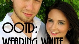 Wearing White OOTD Thumbnail