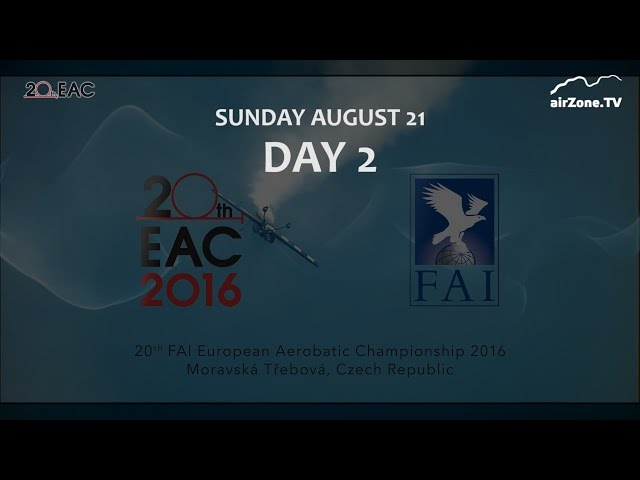 EAC 2016 DAY 2 - ME v akrobacii 2016 DEN 2 (www.airzone.tv)