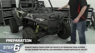 ACE® 900, 570, 500  Polaris® PRO HD Winch Installation | Polaris Off-Road Vehicles