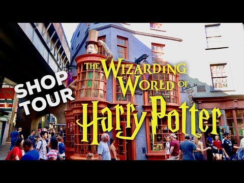 HARRY POTTER SHOP TOUR: Weasleys' Wizard Wheezes | WIZARDING WORLD UNIVERSAL ORLANDO